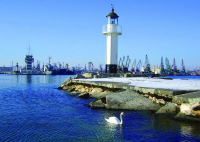 Varna Sea port