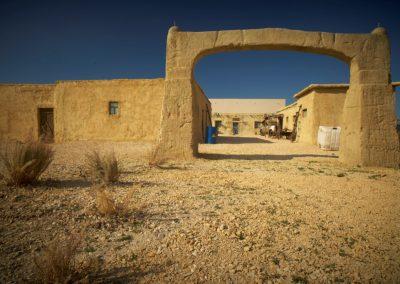 Afghan Desert Village